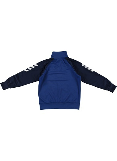Hummel Axon Fermuarlı Sweatshırt Mavi